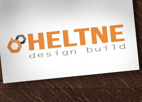 Logo Design for Heltne Design Build