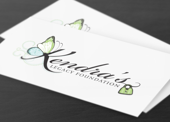 Logo Design for Kendra's Legacy Foundation