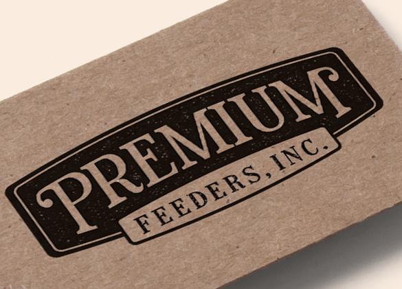 Logo Design for Premium Feeders, Inc.