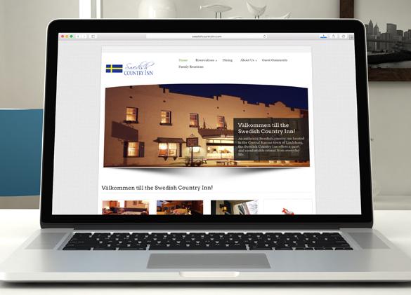 Website Design for Swedish Country Inn