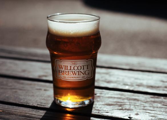 Glassware Design for Willcott Brewing Company