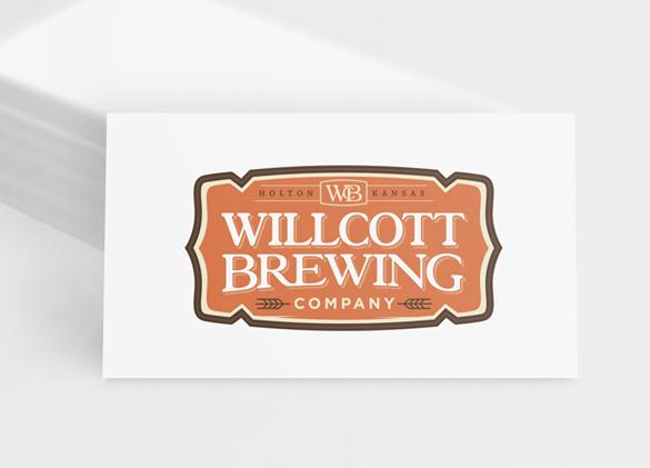 Logo Design for Willcott Brewing Company