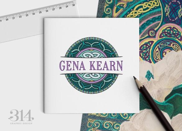 Logo Design for Gena Kearn, Artist