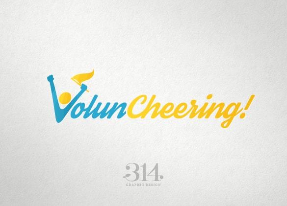 Logo Design for Voluncheering